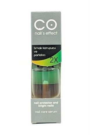 CO NAILS EFFECT TIRNAK KORUYUCU & PARLATICI (12 ML)